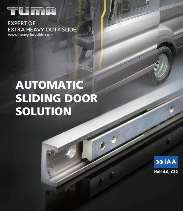 Tuma Industrial Drawer Slides For Rail Train Door Systems